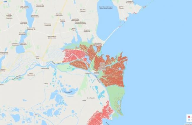 Изменения климата: к 2050 году часть территории Одесской области может быть затоплена