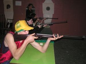 Участники спартакиады отстрелялись на пять  с плюсом