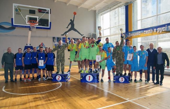 Спортсмены Измаильского отряда снискали «золото» чемпионата Госпогранслужбы Украины по волейболу