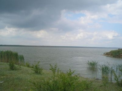 Озеро Китай зарыбляется