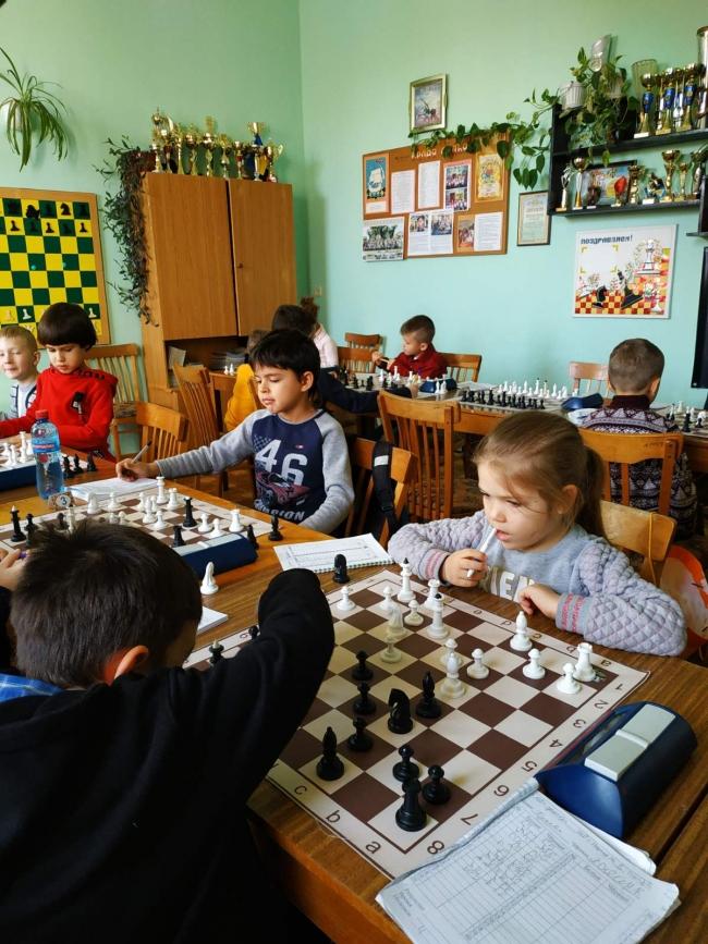 В Измаиле прошёл чемпионат города по шахматам среди малышей