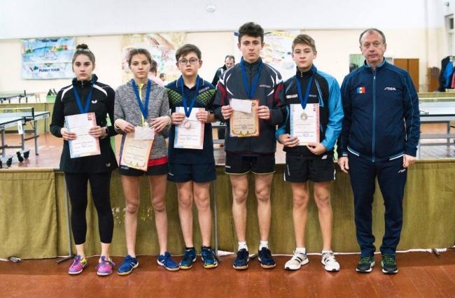 Измаильские теннисисты в Кишинёве