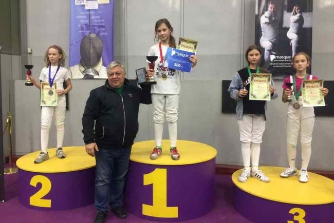 Одесская саблистка завоевала 116 побед подряд