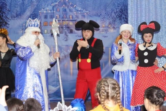 Весёлые новогодние приключения для детей наших военнослужащих