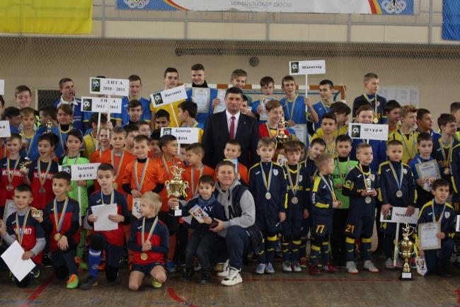 Рождественский турнир по футзалу на кубок городского головы и его победители