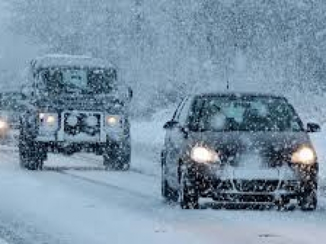 В Украине ожидается снежная буря и сильный туман – синоптики