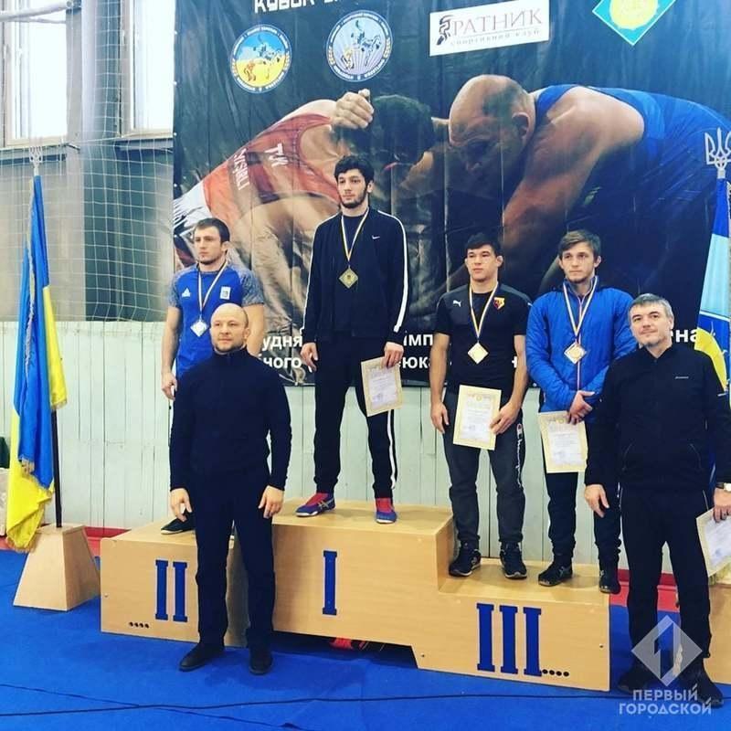 Спортсмены из Одесской области стали победителями Кубка Украины по вольной борьбе