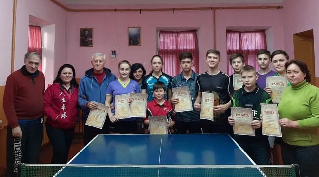 Спартакиада школьников: в объективе настольный теннис