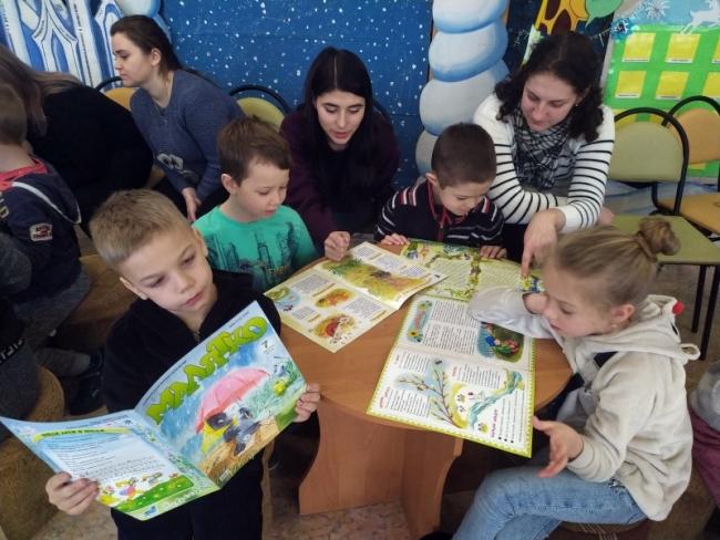 Читательский марафон в Центральной детской библиотеке