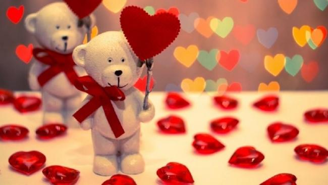 С праздником, с Днём святого Валентина!