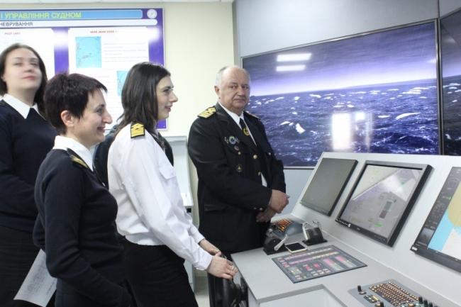 Виртуальный капитанский мостик в Дунайском институте НУ «ОМА»