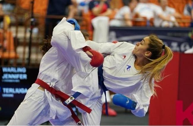 Первая в истории Украины каратистка пробилась на Олимпийские игры