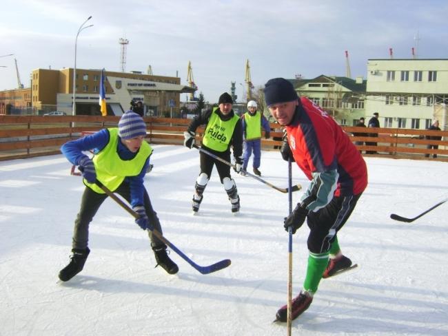 Измаил - хоккейный город!