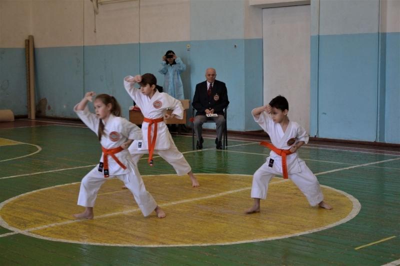 В Измаиле соревновались юные каратисты
