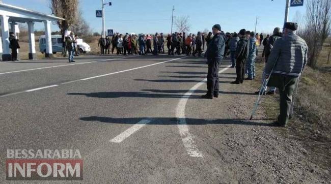 Жители Измаильского района протестуют против насильственного объединения в Придунайскую ОТГ