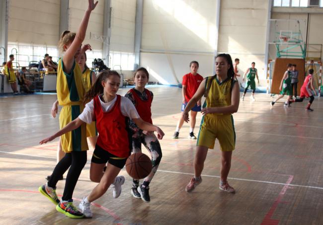 Измаильские баскетболистки - чемпионки Одесской области в спартакиаде по баскетболу 3х3