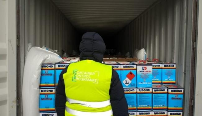 """В Одесском порту задержали почти 4 тонны """"сырья"""" для наркотиков"""