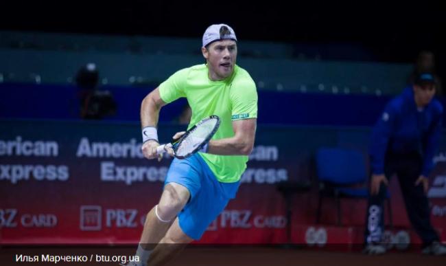 Украинец Марченко одолел россиянина и уверенно шагает к титулу турнира Ассоциации теннисистов-профессионалов в Бергамо