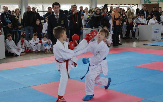 Чемпионат Одесской области по годзю-рю каратэ и панкратиону проходит в Измаиле