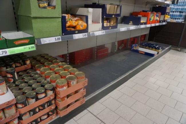 В Румынии из-за коронавируса началась паника в магазинах