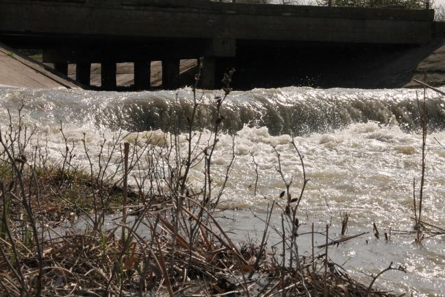 В Катлабух пошла вода из Дуная