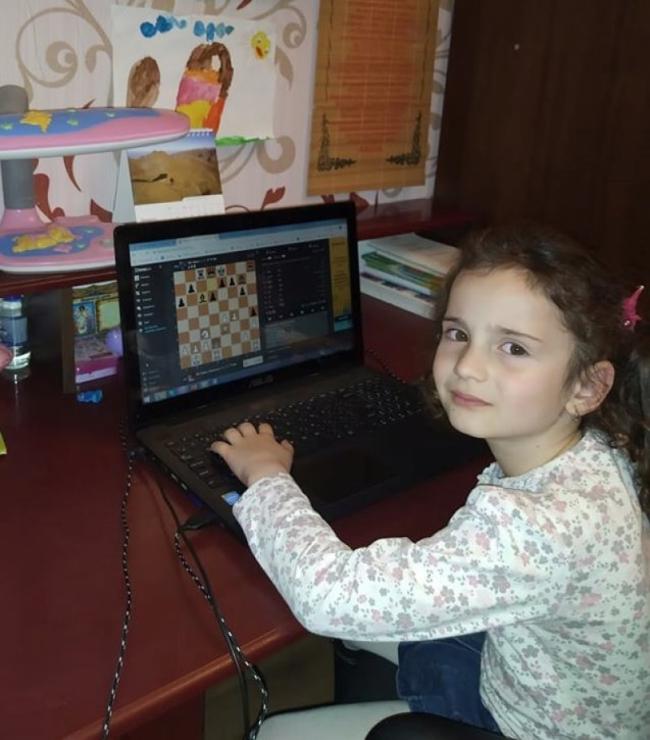 Пятилетняя измаильчанка - призёр международного онлайн-турнира!