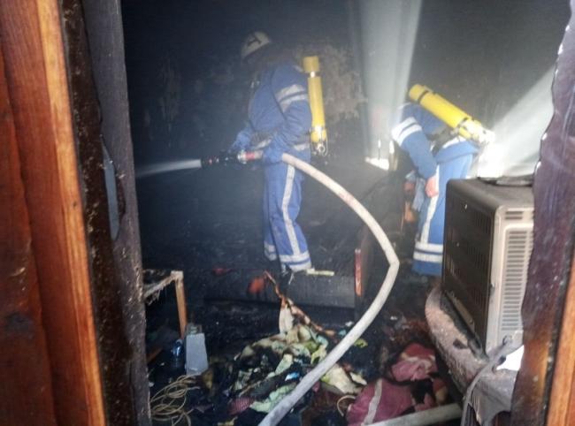 Пожар в Измаиле. Есть жертва