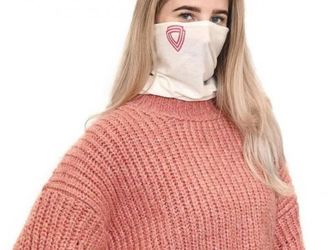 Ученые создали уникальный шарф, способный заменить медицинские маски