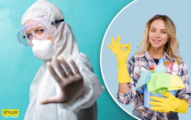 Этим нельзя убирать в доме: врач назвал опасный дезинфектор