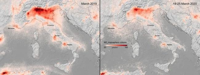 Коронавирус в Европе: экологи рассказали, насколько очистился воздух