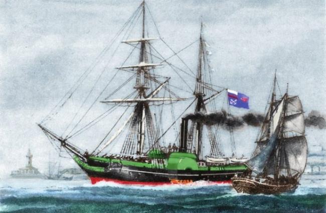 Так начиналось отечественное судоходство на юге