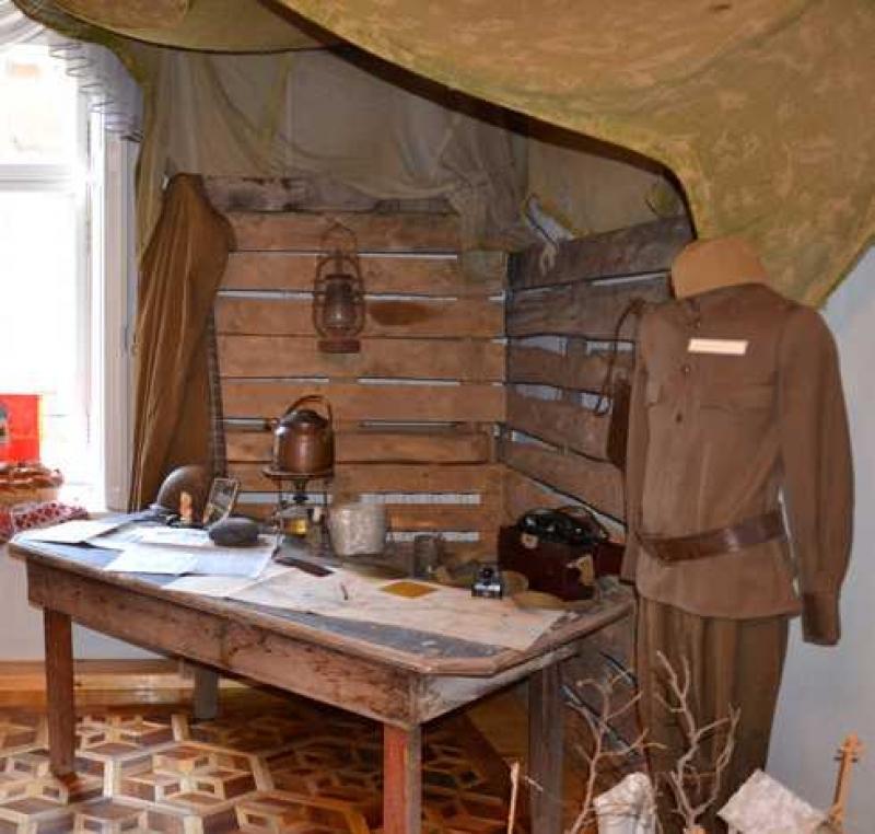 В зале Боевой славы Измаильского музея Придунавья