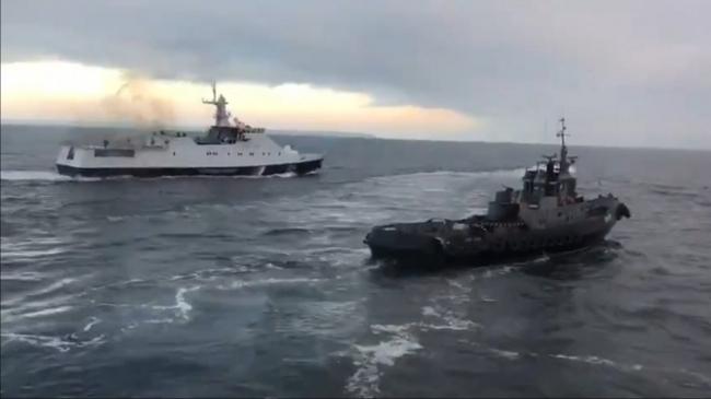 В начале 2023 года Украина ожидает решения трибунала в деле о захвате Россией украинских моряков и кораблей