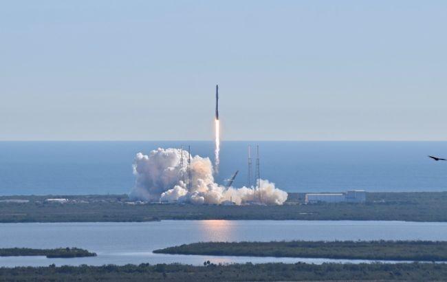 Запуск ракеты Crew Dragon состоялся