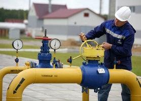 Транзит газа через Украину снизился на 46%