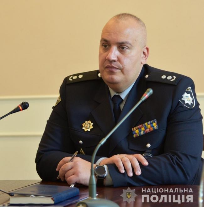 Новым заместителем главы Одесской облполиции назначен Анатолий Никитин