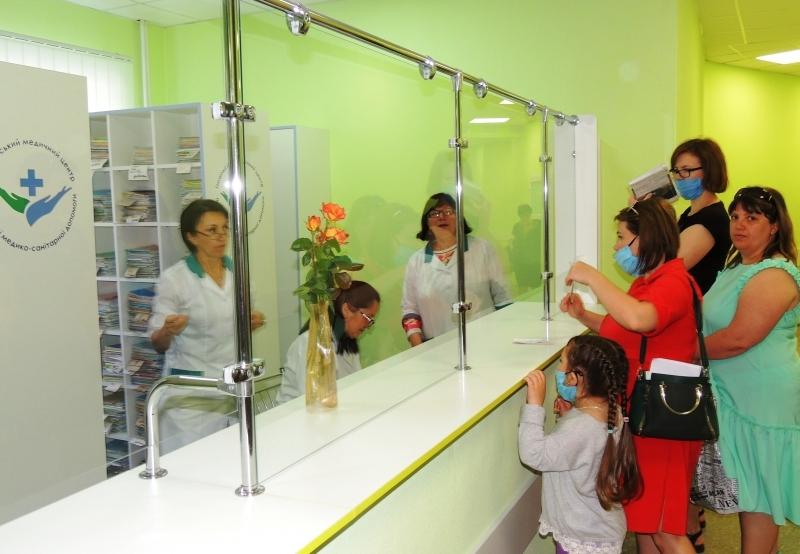 Детская поликлиника цвета радости