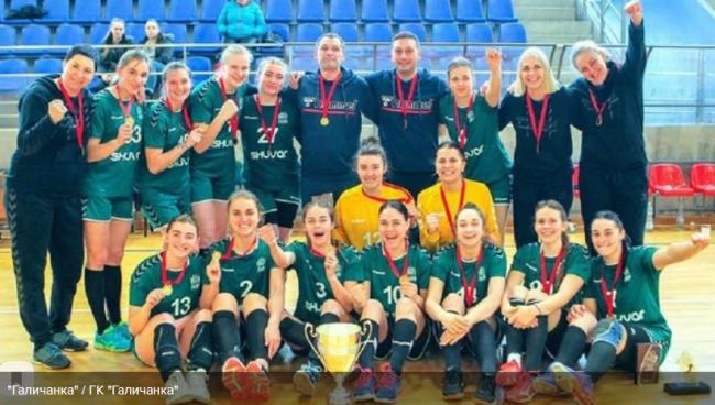 """Непобедимая """"Галичанка"""" в шестой раз подряд стала чемпионом Украины по гандболу"""