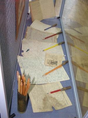 История - карандашным штрихом