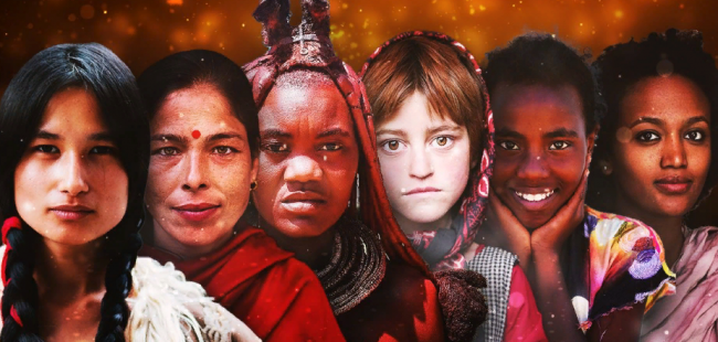 Как выглядят женщины из разных уголков мира: удивительные фотографии
