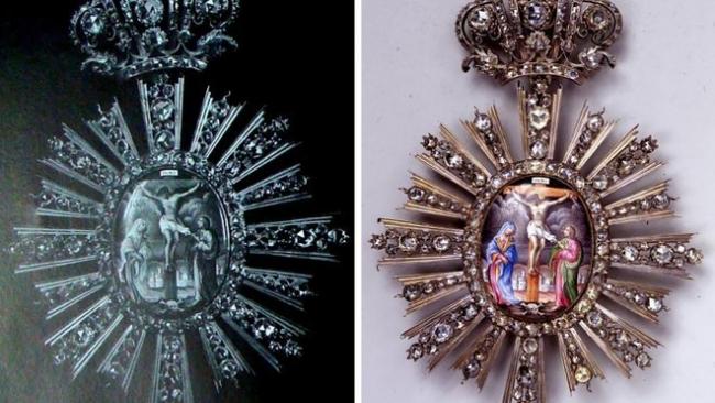 Пропавшие из Киево-Печерской лавры и Софийского собора драгоценности нашлись в Москве