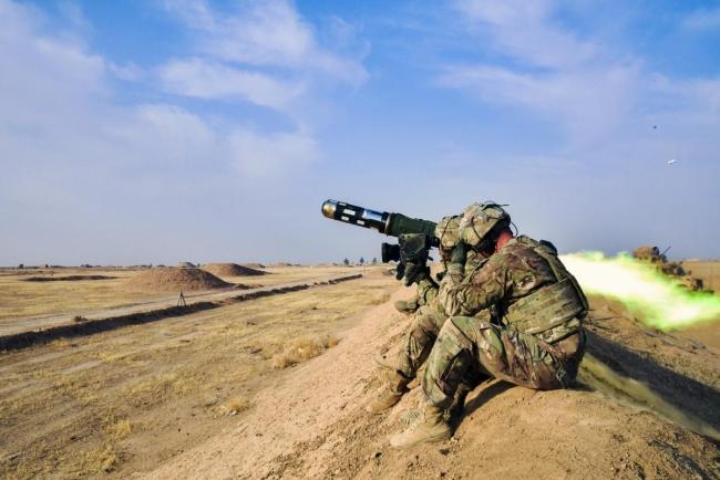 Украина получила от США первую партию ракет к комплексам Javelin