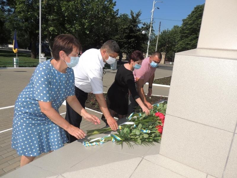 Отметили 24-ю годовщину Конституции Украины
