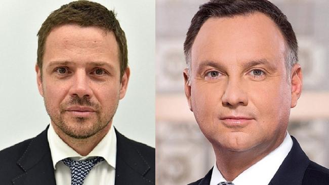 На выборах президента Польши во второй тур вышли Дуда и мэр Варшавы Тшасковский
