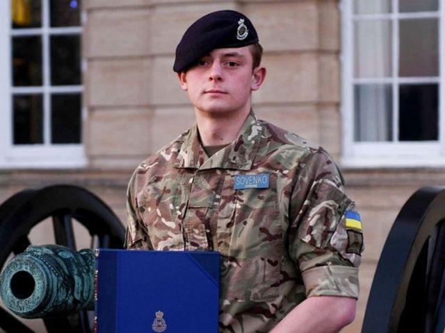 Украинец стал лучшим иностранным выпускником Королевской военной академии Великобритании