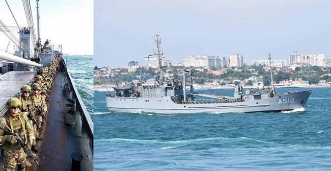 Военно-морской парад в честь Дня ВМС Украины прошёл в Одессе