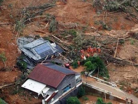 В Японии десятки погибших из-за наводнений