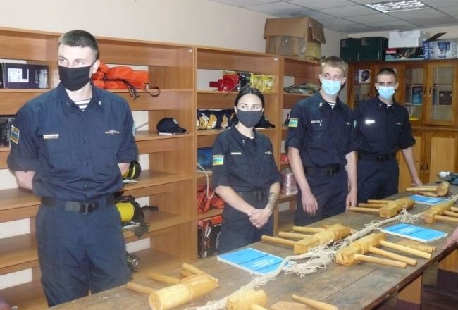Погружение в Морскую охрану: как выпускники Национальной академии морскую специальность осваивали