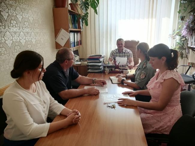 Відбулась спільна зустріч міськрайонного відділу філії Центру пробації в Одеській області та спостережної комісії Ізмаїльської РГА