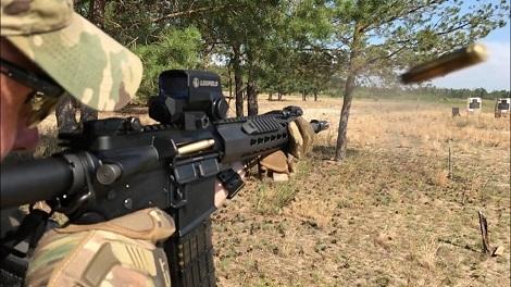 Украинские пограничники больше не будут использовать автоматы Калашникова
